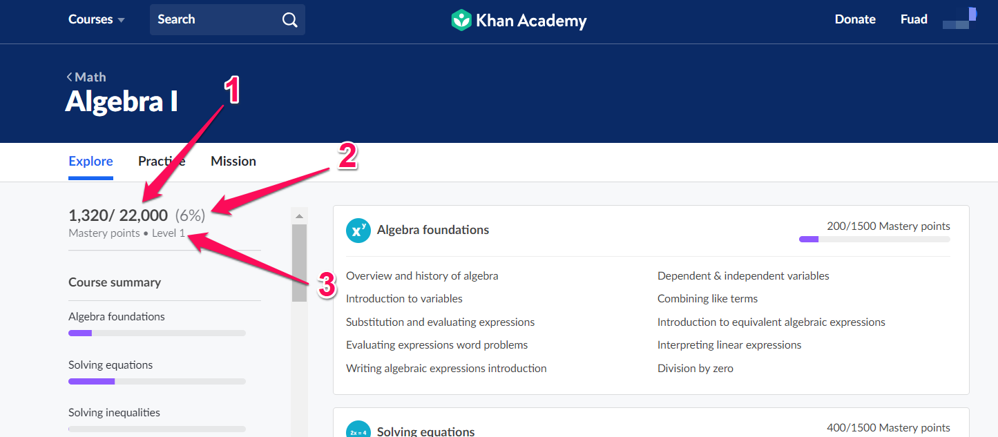 What are Course and Unit Mastery? – Khan Academy Help Center